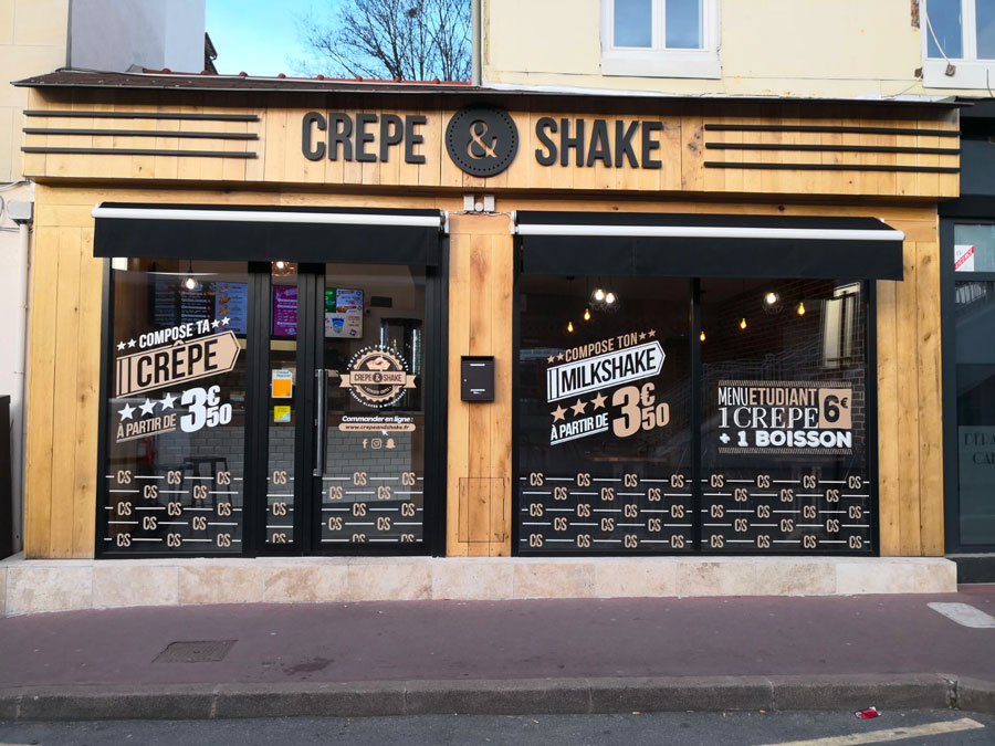 Poto Crepe And Shake Exterieur